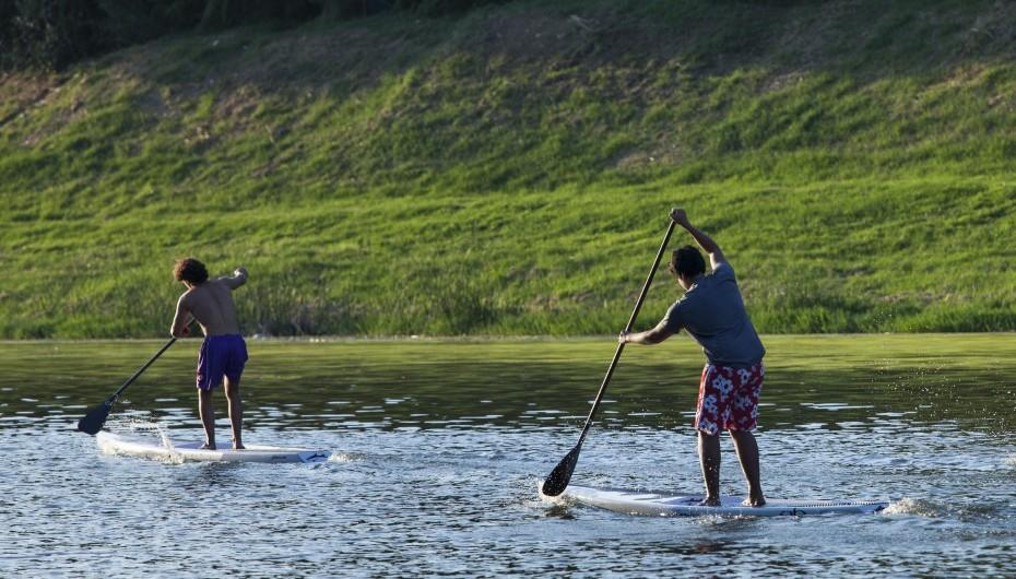 paddleboarding fitness training