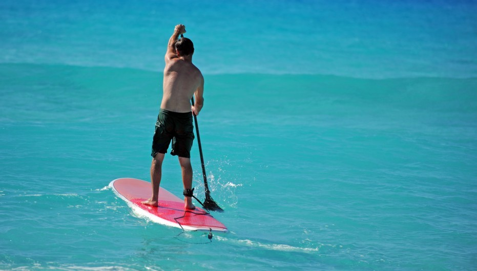 improving technique paddleboard